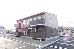 長野県長野市三本柳西1丁目の賃貸アパートの外観