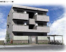 (仮)西長洲町マンション[302号室号室]の外観