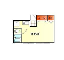 コーポナミーレ[2階]の間取り