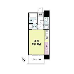 アーデンタワー神戸元町[1105号室]の間取り