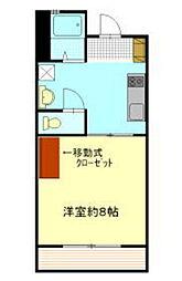 コートドール花岡[3階]の間取り