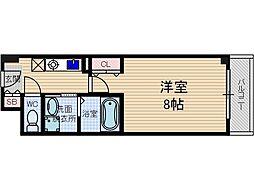 シャンピアコート茨木[2階]の間取り