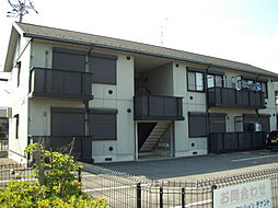 グロワール A棟[1階]の外観