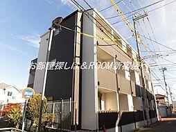 東京都練馬区関町東1丁目の賃貸アパートの外観