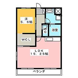 TEA LEAVES[1階]の間取り
