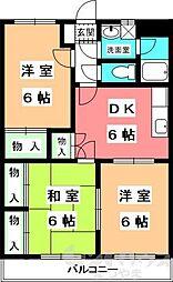ユーミーAOKI A棟[A501号室]の間取り
