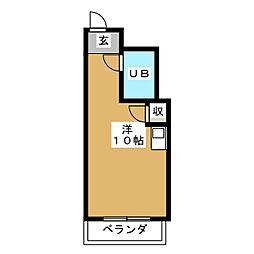 Kanon Sendai[2階]の間取り