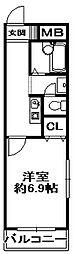 エンリッチパール[3階]の間取り
