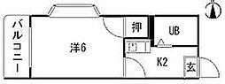 M・キャロット (TM)[3階]の間取り
