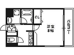 HUgE2 (ヒュージーツー)[3階]の間取り