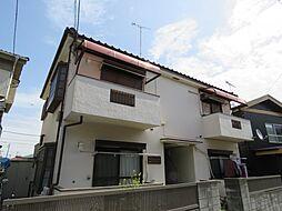 埼玉県川越市大字的場の賃貸アパートの外観