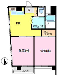 江川ビル[3階]の間取り
