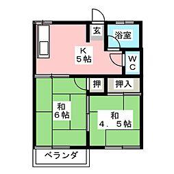 蟹江駅 3.5万円