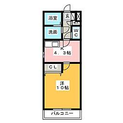 be−full II[3階]の間取り