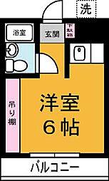 東光コーポ[207号室]の間取り