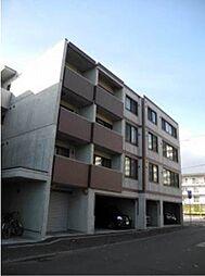 北海道札幌市中央区北八条西26丁目の賃貸マンションの外観