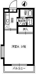 メゾンいけべ[201号室]の間取り