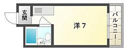 大宝門真CTスクエアーII[3階]の間取り