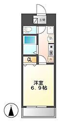 愛知県名古屋市中川区十番町5丁目の賃貸マンションの間取り