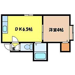 北海道札幌市東区北十七条東1丁目の賃貸アパートの間取り