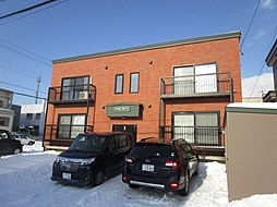 北海道札幌市東区北四十八条東15丁目の賃貸アパートの外観