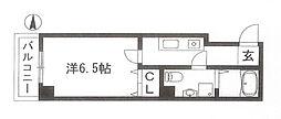 ブリエ五条大宮[305号号室]の間取り