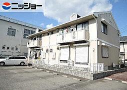 三重県四日市市大井手1丁目の賃貸アパートの外観