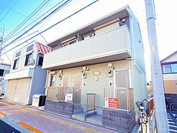 東京都東大和市南街2丁目の賃貸アパートの外観