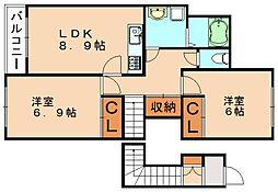 Dream on 2008[2階]の間取り