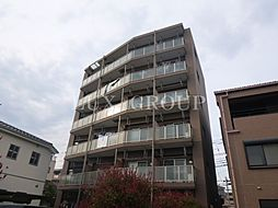 東京都昭島市朝日町3の賃貸マンションの外観