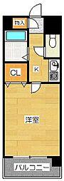 ル・フェール博多駅南[2階]の間取り
