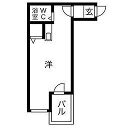 プレアール新今里III[305号室]の間取り