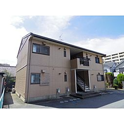 奈良県大和郡山市柳の賃貸アパートの外観