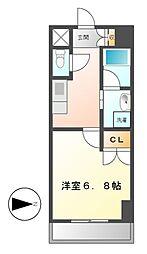 レジディア鶴舞[10階]の間取り