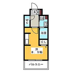 LANDIC H1916[10階]の間取り