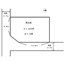 岩田町6丁目 売土地 2駅2路線利用可