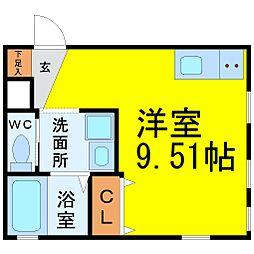 ピアチェーレ名駅[1階]の間取り