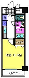 リバーサイド金岡 五番館[3階]の間取り