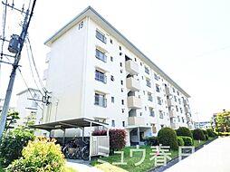 福岡県大野城市下大利団地の賃貸マンションの外観