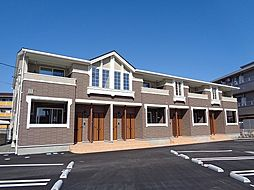 徳島県板野郡藍住町乙瀬字中田の賃貸アパートの外観