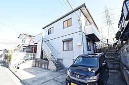 埼玉県川越市寿町1丁目の賃貸アパートの外観