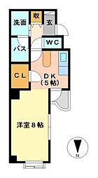 セレス大須[7階]の間取り