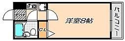 兵庫県神戸市須磨区妙法寺字蓮池丁目の賃貸マンションの間取り