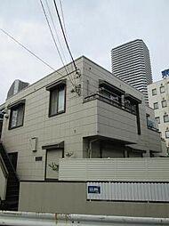 神奈川県川崎市中原区市ノ坪の賃貸アパートの外観