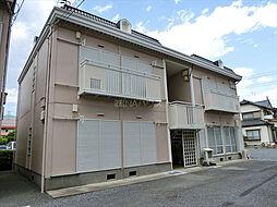 埼玉県上尾市上尾宿の賃貸アパートの外観