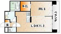 CENTER MARK三萩野[10階]の間取り
