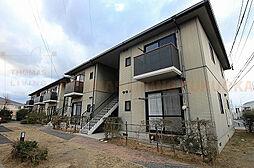 福岡県糟屋郡新宮町大字上府の賃貸アパートの外観