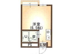 フラットフルヤ[2階]の間取り