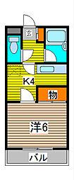 Casa Jupiter Ⅰ[3階]の間取り