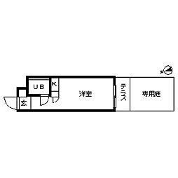 ハイシティ高田馬場[0126号室]の間取り